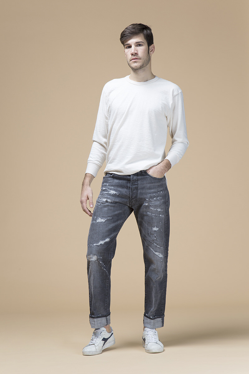 America, jeans regular, front