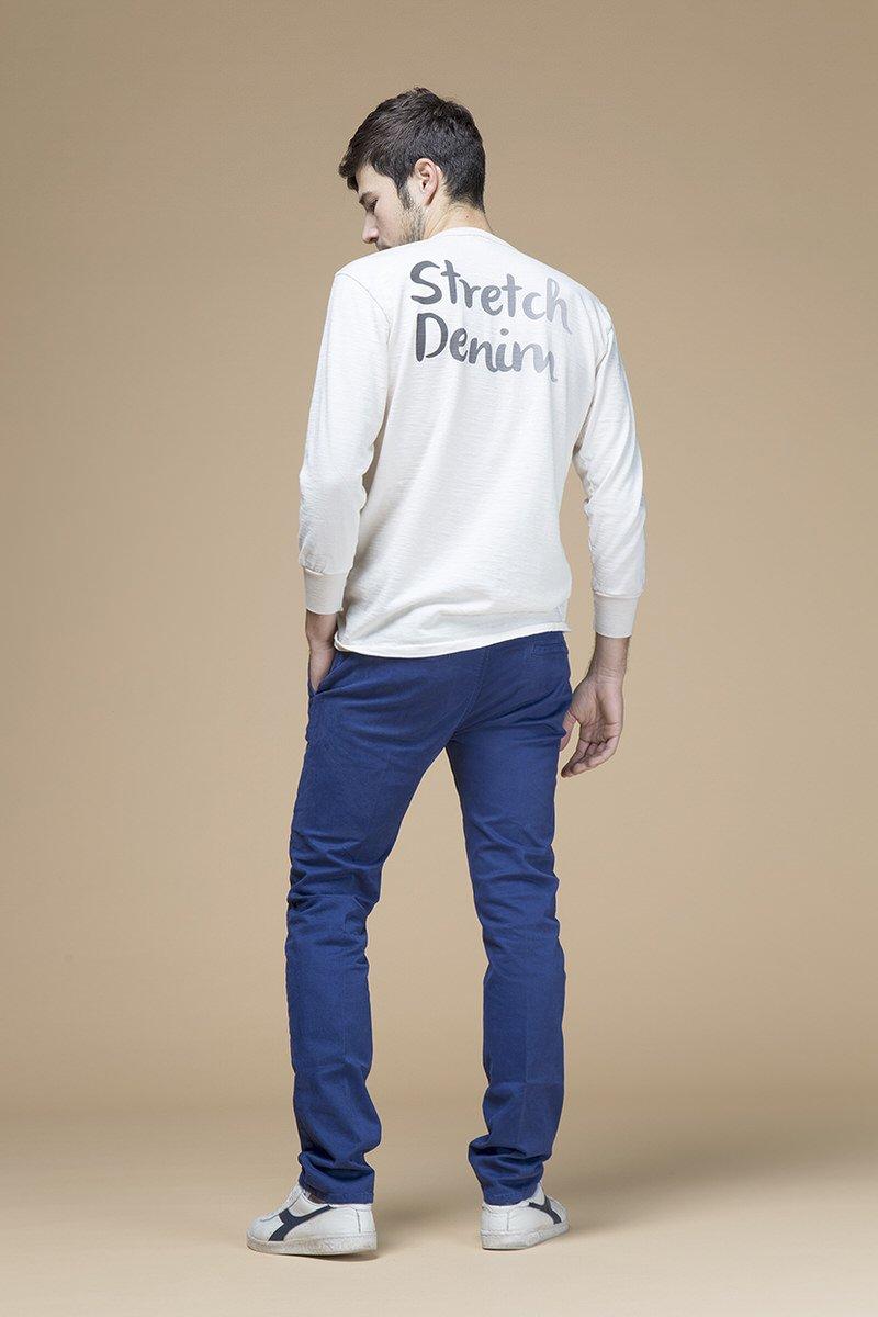 Chino, pantalone slim, retro