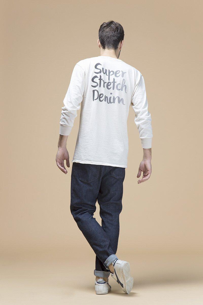 Dennis, jeans slouchy skinny, retro
