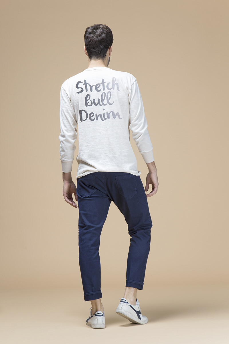Farran, pantalone slouchy cropped, retro