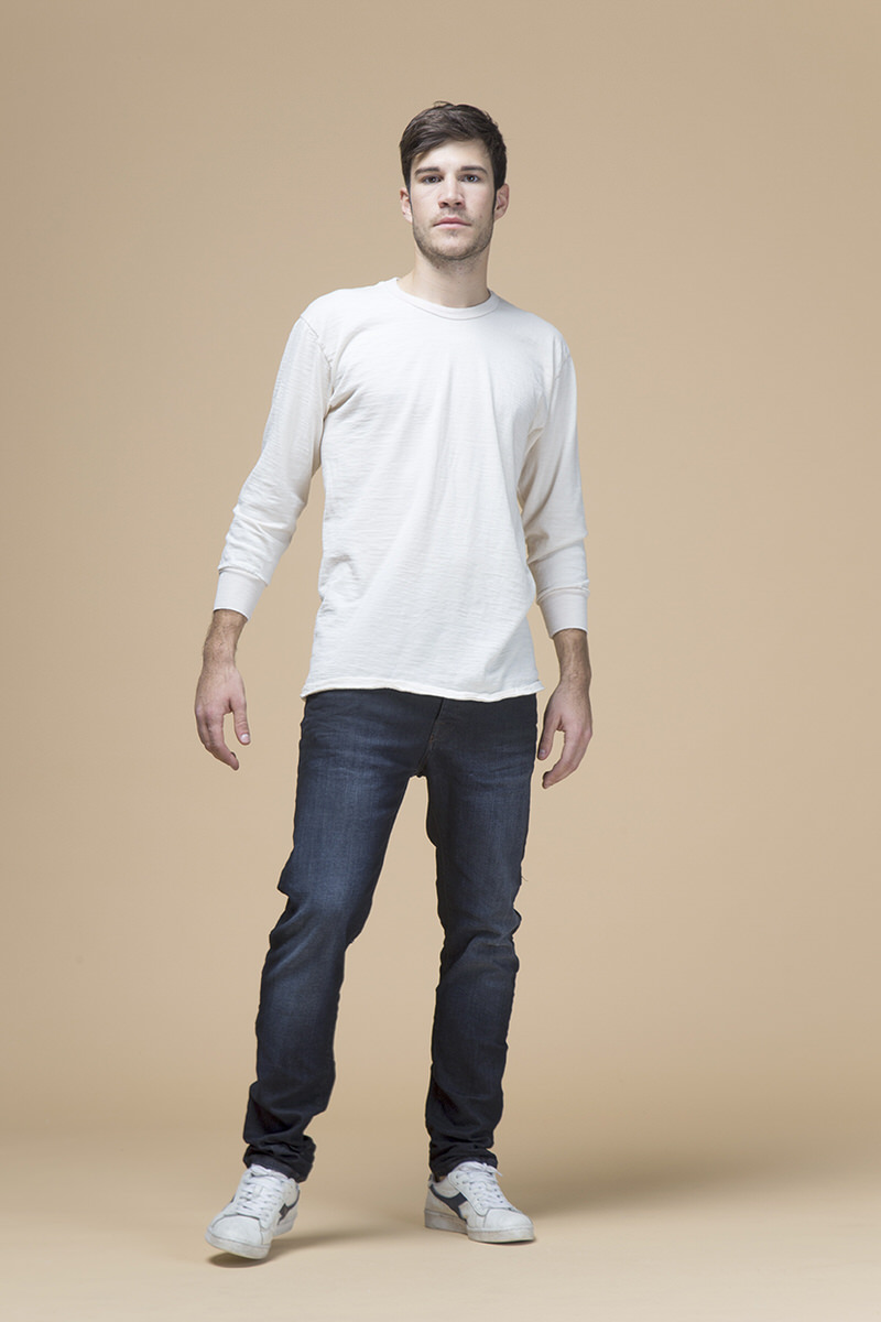 Marco, jeans slim slouchy, front