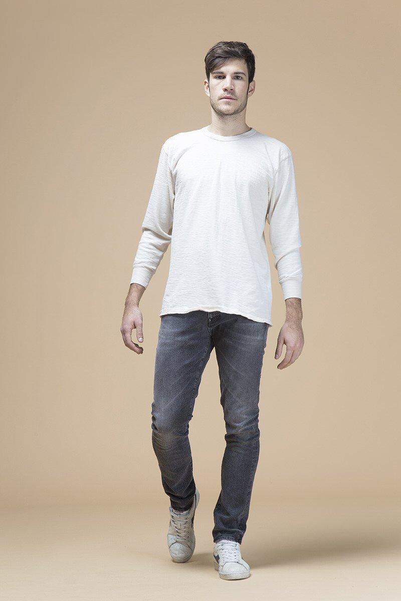 Paul Newman, jeans slim, front