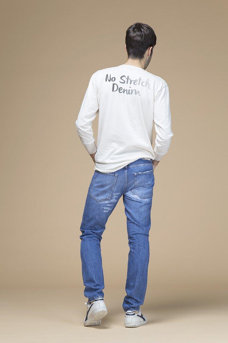 Paul Newman, jeans slim, retro