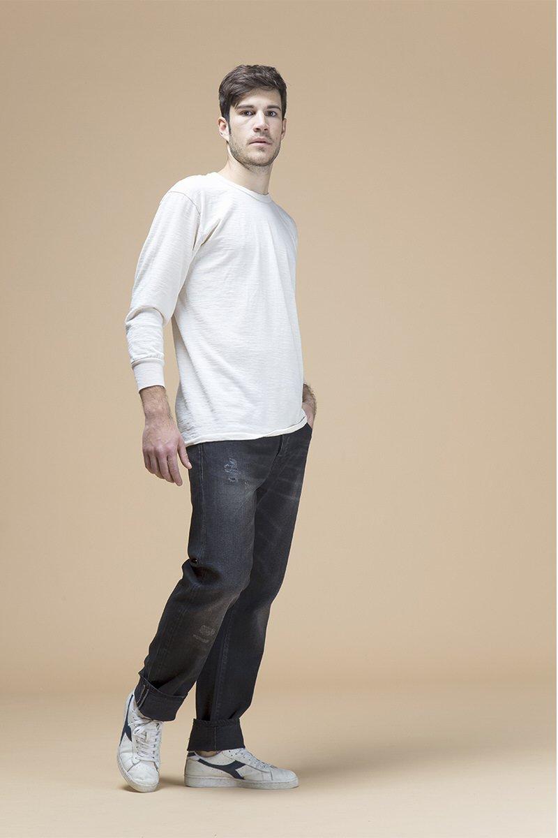 Steve, jeans regular, front