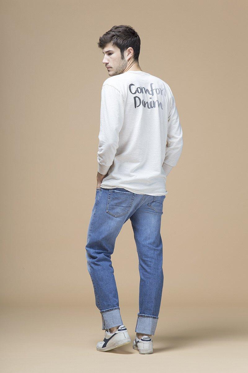 Steve, jeans regular, retro